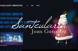 Creation of a website for visual arts company.