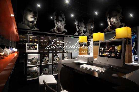Diseny i Modelat 3D de espais comercials per a important marca textil.