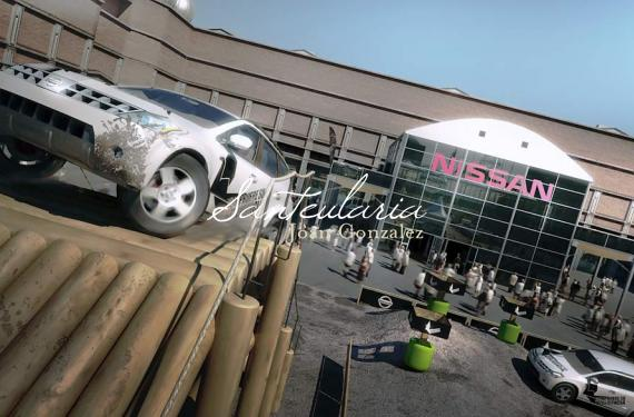 Creation of environments and models for the creation of the Nissan's Stand at the Barcelona Motor Show 2009