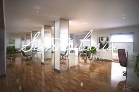 Creation of 3D interiors for luxury office in Aviguda Diagonal
