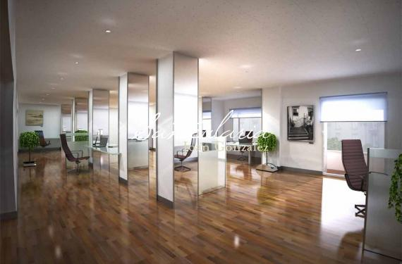 Creation of 3D interiors for luxury office in Aviguda Diagonal