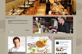 Create website for small franchise of restaurants in Prague