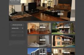 Creating a new website for luxury real estate company located in Barcelona