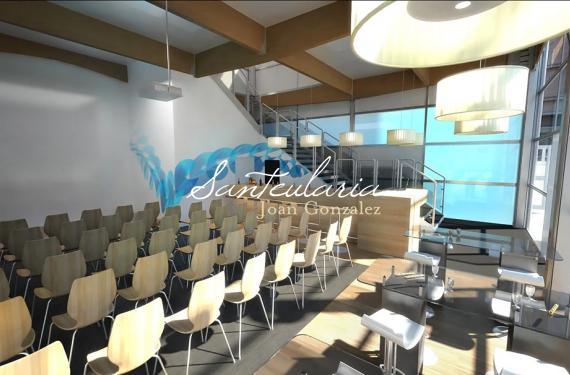 Creación de espacios exclusivamente diseñados para el Stand de una importante compañía de telefonía movil